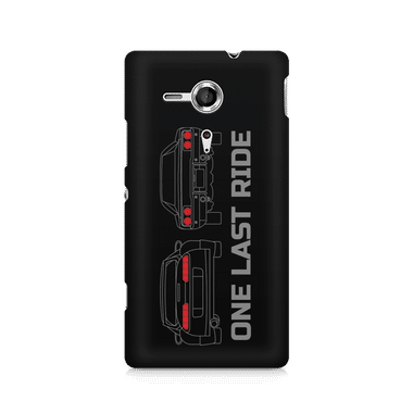 ONE LAST RIDE - Sony Xperia SP M35H | Mobile Cover