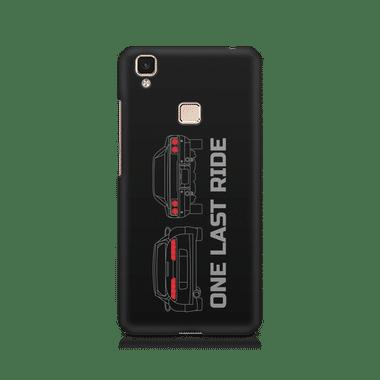 ONE LAST RIDE - Vivo V3 Max   Mobile Cover