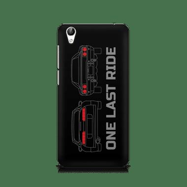ONE LAST RIDE - Vivo Y51L | Mobile Cover