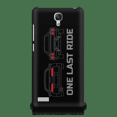 ONE LAST RIDE - Xiaomi Redmi Note | Mobile Cover