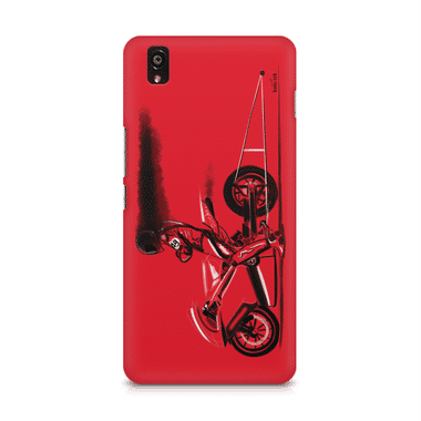 RED JET - OnePlus X | Mobile Cover