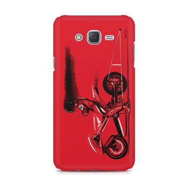 RED JET - Samsung J5 2016 Version   Mobile Cover