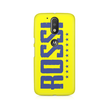 ROSSI - Moto G4/G4 Plus | Mobile Cover