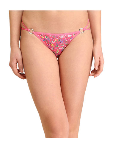 Pink Berries Stainless Thong