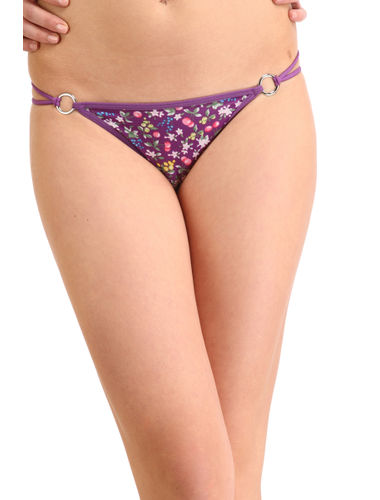 Puple Berries Stainless Thong