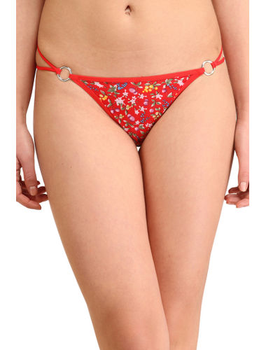 Red Berries Stainless Thong