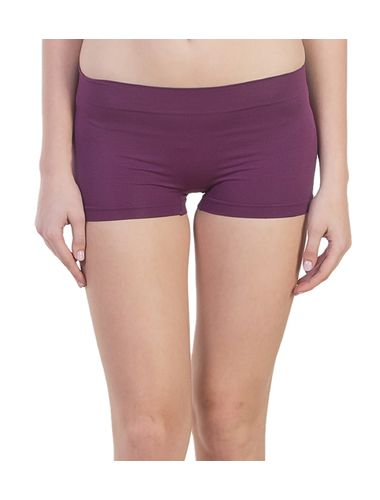 New Look Micro BoyShorts in Modal Fabric, Color- Purple