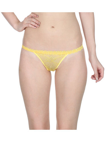 Yellow  Complete Net G-String
