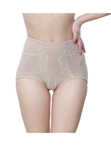 Glus Women  High Waist Panty Shapewear , Color - Nude Skin
