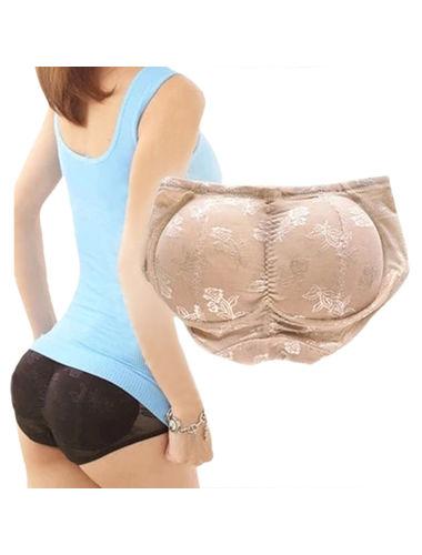 Seamless Padded Butt Hip Enhancer Shaper Panties!! . Color- Nude Skin