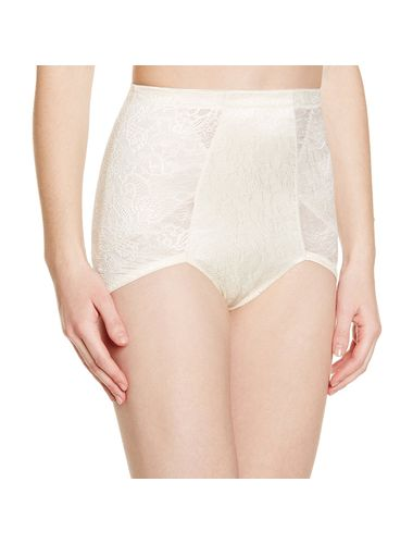 Scandale  Shaping Brief : Shape Your Butt, Waist, Color- Classic Pearl,  Size- Large