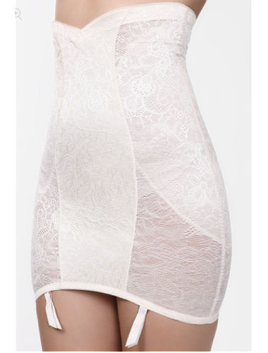 Scandale Correction Shapewear Skirt , Size-XL ,Color- Classic Pearl