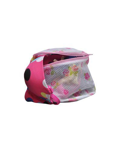 Glus Lingerie/ Laundry Washing Bag , Shape Round , Zip Encloser