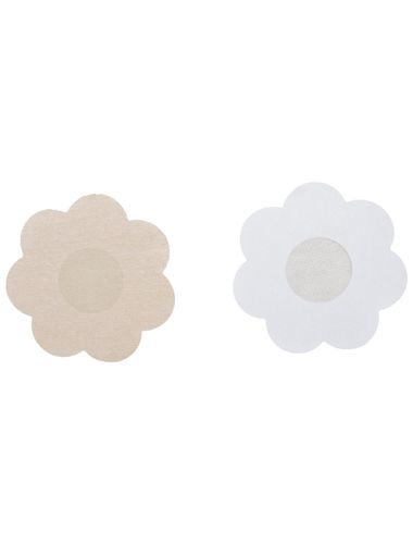 Flower Shape No Show Through Pasties/Help in Swimming /Go Bra less ,Pack Of 5