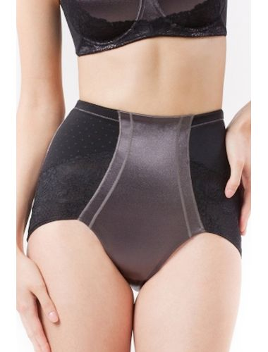 Scandale mid waist Sirene  Brief , Size-L, Color- Black Couture
