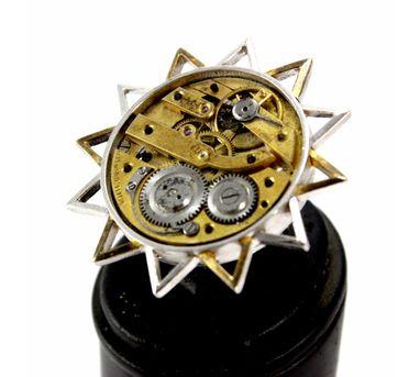 Absynthe Designs|Vintage Silver Watch Brooch
