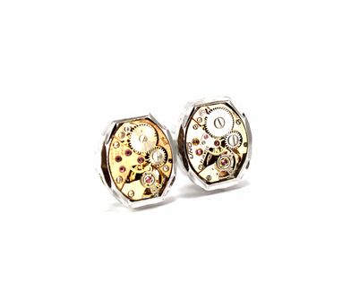 Absynthe Designs| Swiss Bronze Cufflinks