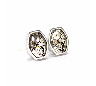 Absynthe Designs|Swiss cuff Links