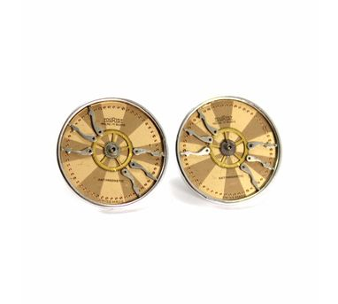 Absynthe Designs|Antique Watch Dial Earring