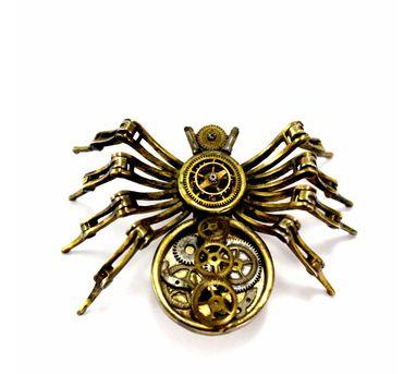Absynthe Designs|Arachnea Hairpin