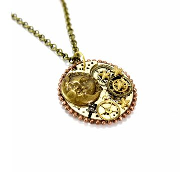 Absynthe Designs|Sun Moon Star Necklace