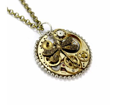 Absynthe Designs|Dragon Fly Necklace