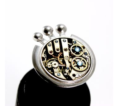 Absynthe Designs|Clock Gear Ring