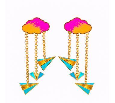 Aditi Bhatt|Paperplanes Earring