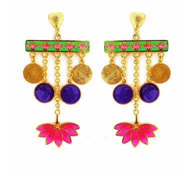 Aditi Bhatt Lotus Love Earring