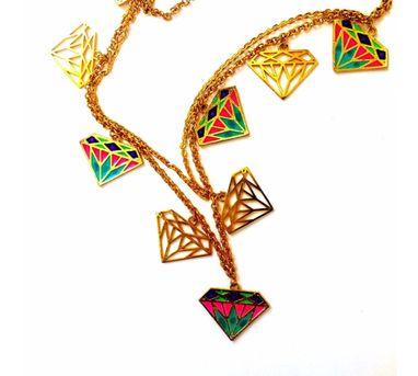 Aditi Bhatt|Crazy Diamond Necklace