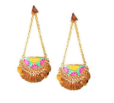 ADITI BHATT | Lotus Earrings