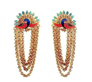ADITI BHATT | Dance of the Peacock Earrings