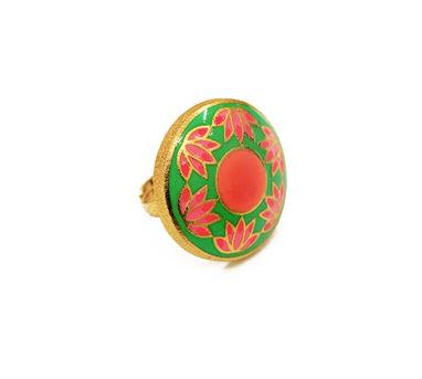 ADITI BHATT | Lotus Ring