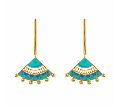 Aditi Bhatt|Madhubani Earrings 1