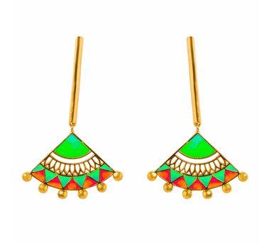Aditi Bhatt|Madhubani Earrings 2