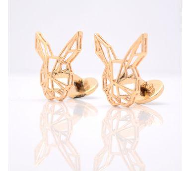 Aseem Gioielli  | Rosegold Rabbit Cufflinks