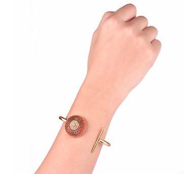 Akihi Orange & Gold Bracelet