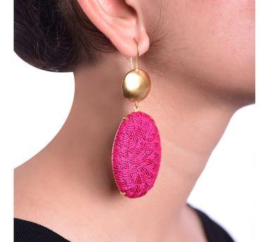 Akihi Pink & Gold Earring