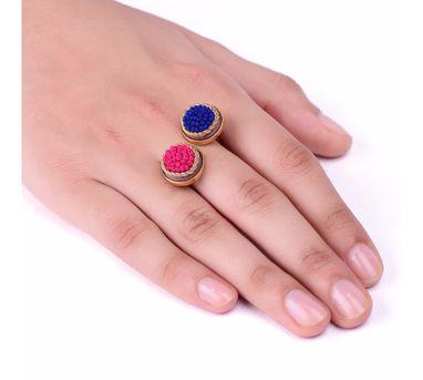 Akihi|Pink Blue Ring