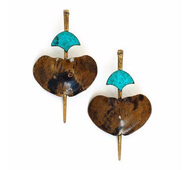 DookdiITortoise Beetle Earring