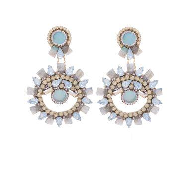 Deepa Gurnani|Llaria  Gold Earring