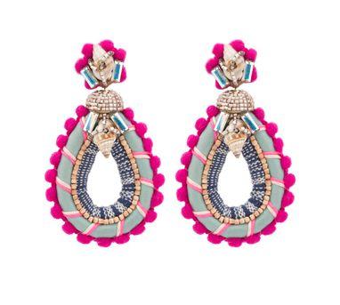 Deepa Gurnani|Masara Multi Coloured Earring