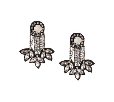 Deepa by Deepa Gurnani | Tripple Droplet Earrings