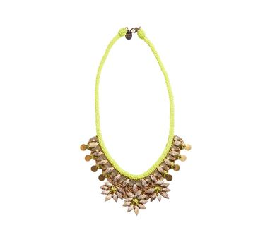 Deepa By Deepa Gurnani|Kiri Yellow Necklace