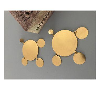 Dhora|Ladoo Large Circular Earring
