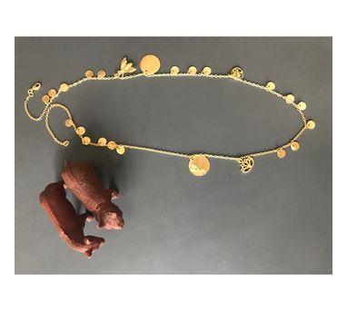 Dhora|Ladoo Charm Necklace