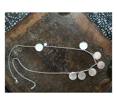 Dhora Ladoo Silver Necklace