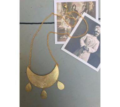 Dhora|Chandbali Pendant Necklace