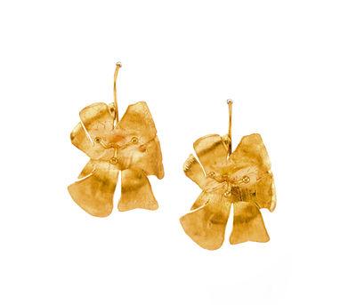 DHORA   Hibiscus Earrings