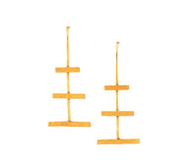 DHORA | Tri Hook Earrings